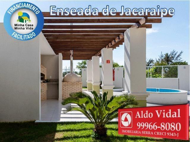 ARV34- Apê Novo em Jacaraipe, 2 quartos com suíte e varanda - Foto 18