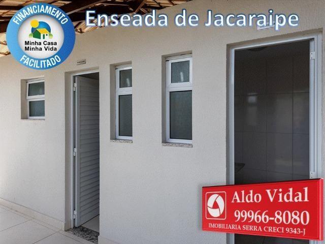 ARV34- Apê Novo em Jacaraipe, 2 quartos com suíte e varanda - Foto 13