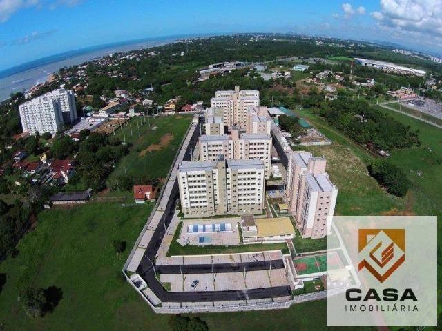 E.R-Apartamento com 2 quartos com quintal perto da praia de Manguinhos - Foto 13