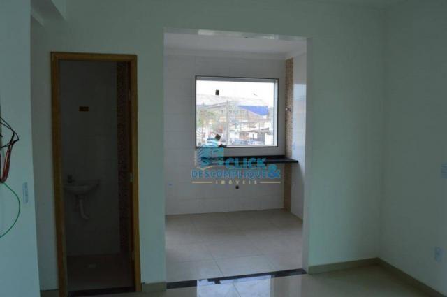 Casa com 2 dormitórios à venda, 87 m² por R$ 380.000,00 - Estuário - Santos/SP - Foto 11
