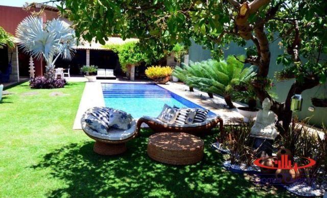 Casa com 5 dormitórios à venda, 350 m² por R$ 1.200.000 - Porto das Dunas - Aquiraz/CE