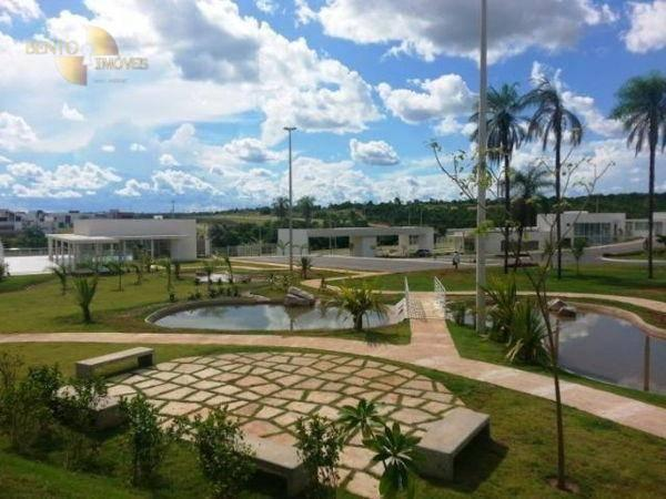 Florais do Valle - Terreno à venda, 565 m² por R$ 330. - Condomínio Florais Cuiabá Residen - Foto 3