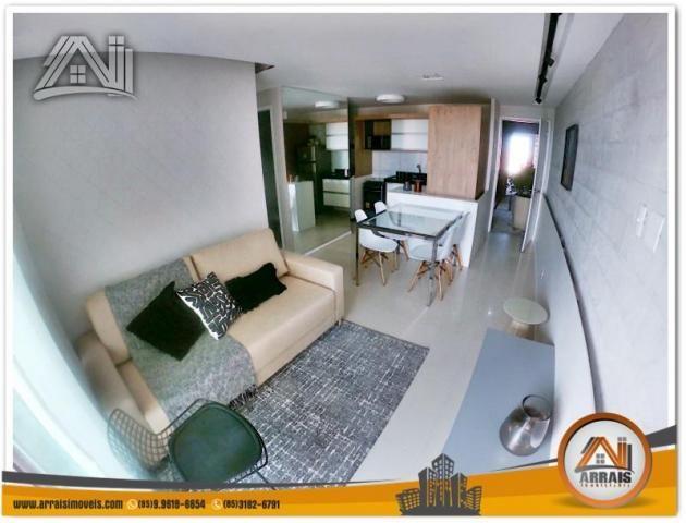 Apartamento com 2 Quartos mais Suite Master à venda no Bairro Benfica - AQUARELA CONDOMÍNI - Foto 3