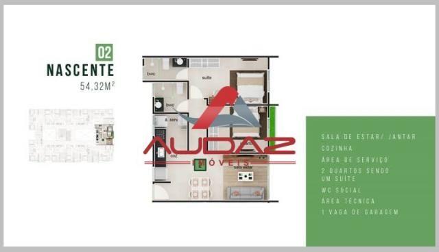 Apartamento à venda com 2 dormitórios em Bancários, João pessoa cod:1696 - Foto 13