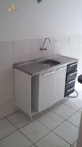 Apartamento à venda, 49 m² por R$ 180.000,00 - Carumbé - Cuiabá/MT - Foto 4