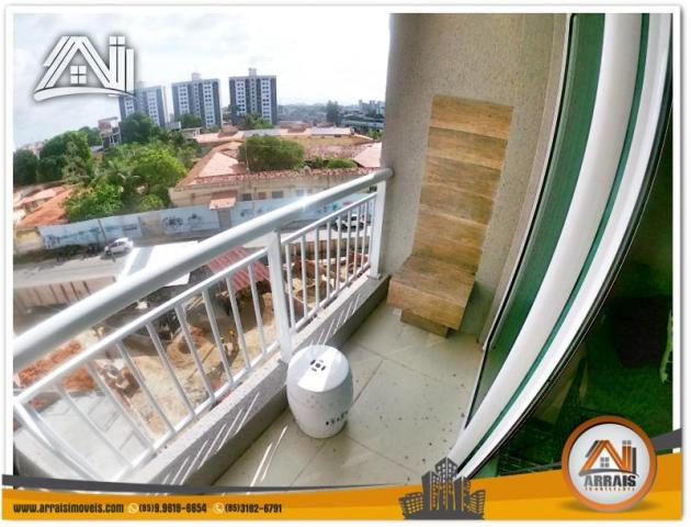Apartamento com 2 Quartos mais Suite Master à venda no Bairro Benfica - AQUARELA CONDOMÍNI - Foto 4