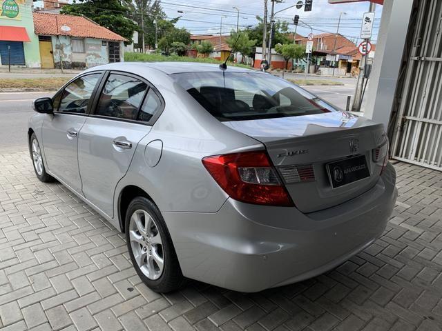 Honda Civic EXS 2013 (BLINDADO) - Foto 5