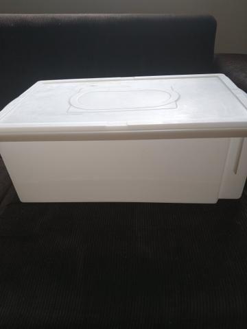 Caixa Plástica Organizadora Resistente - Foto 4