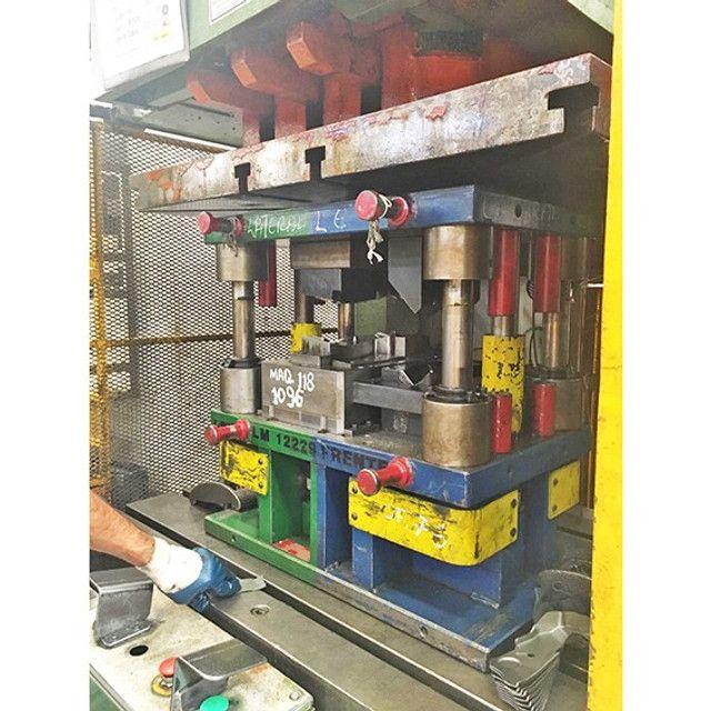 Prensa Jundiai Freio-Fricção 200T NR12 C/ Almofada - ZN3 Usado - Foto 3
