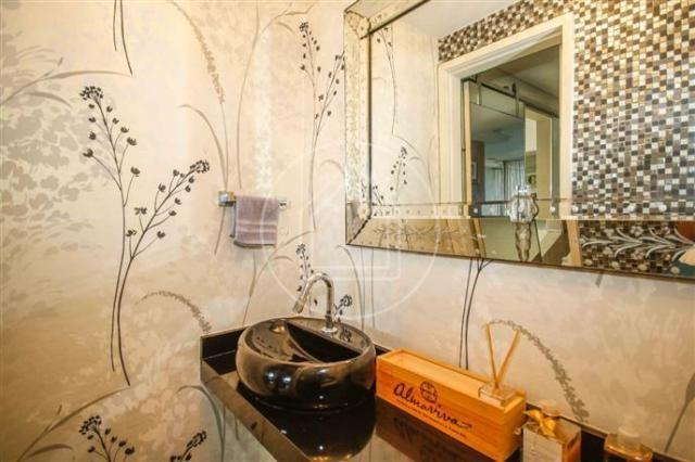 Apartamento à venda com 3 dormitórios em Barra da tijuca, Rio de janeiro cod:828684 - Foto 12