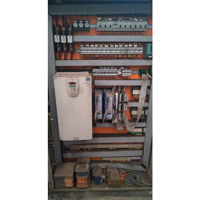 Torno vertical CNC Siemens morando 1 m de volteio - VN25 Usado - Foto 5