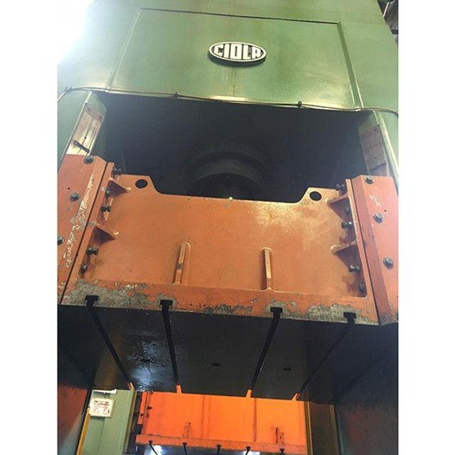 Prensa Hidráulica Ciola 160T NR12 C/ Almofada- ZN6 Usado - Foto 4