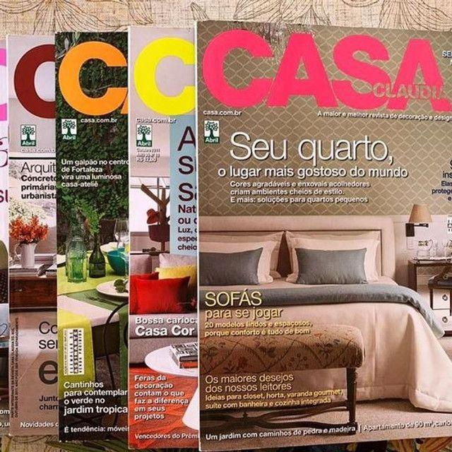 88 revistas de arquitetura e decoração - Foto 4