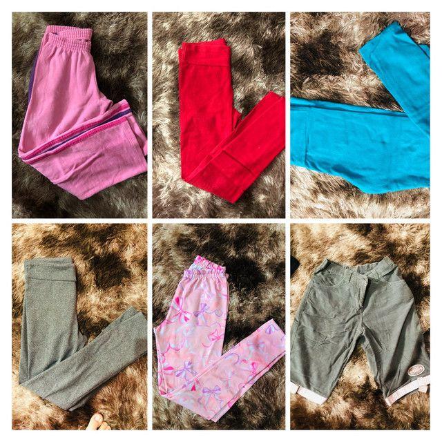 Lote de roupas tamanho 8/10/12 são 70 peças  - Foto 6