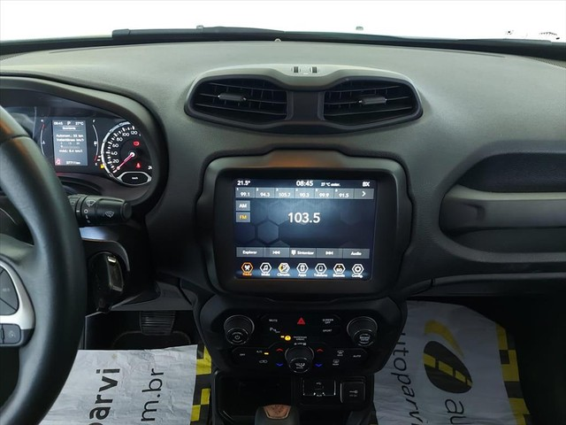 JEEP RENEGADE 1.8 16V FLEX LONGITUDE 4P AUTOMÁTICO - Foto 10