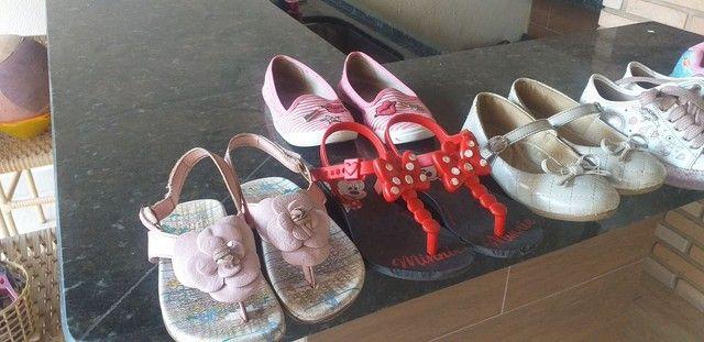 Sapatos infantis de menina - Foto 3