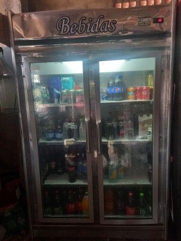 Refrigerador expositor duas portas 110v. *