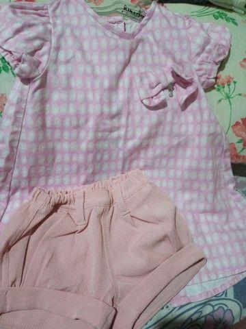 Conjuntos de meninas de 1 ano  - Foto 3