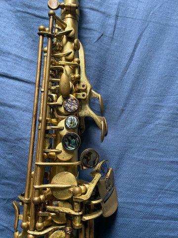 Sax Soprano L.A. Sax (usado) aceito negociação ! - Foto 2