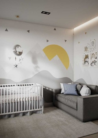 desenhos  pinturas    decoracao  quarto  infantil - Foto 4