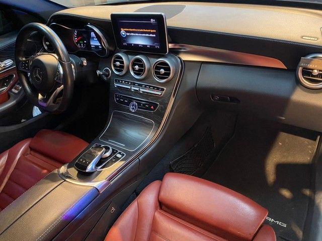 Mercedes C250 Sport, 2015, interior vermelho, blindada nível 3A, configuração Linda  - Foto 9