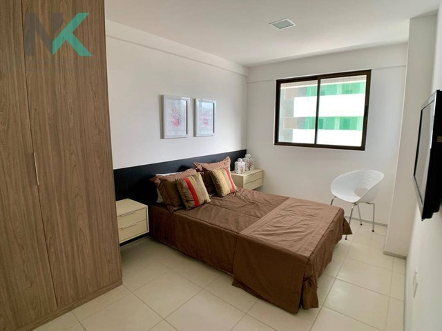 Apartamento com 3 dormitórios à venda, 114 m² por R$ 811.023,29 - Guaxuma - Maceió/AL - Foto 11
