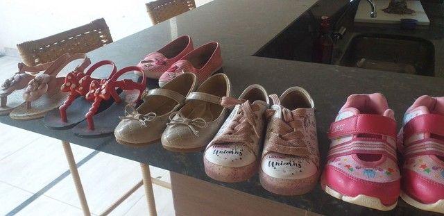 Sapatos infantis de menina - Foto 2