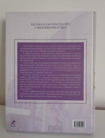 Livro Recursos Em Fisioterapia Cardiorrespiratória - Foto 3