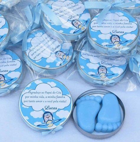 Lembrancinha: Pezinhos de sabonete