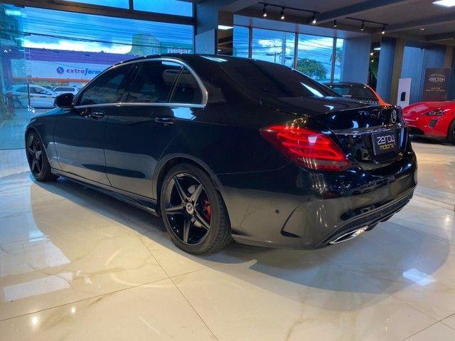 Mercedes C250 Sport, 2015, interior vermelho, blindada nível 3A, configuração Linda  - Foto 20