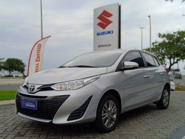 Toyota Yaris 2021 com 17.000km muito novo! - Foto 2