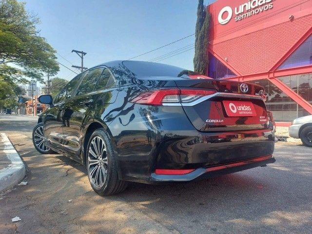 469. Corolla Altis Premium 1.8 Hybrid 2021 - 4.000 km - Blindado com Teto Solar - Foto 4