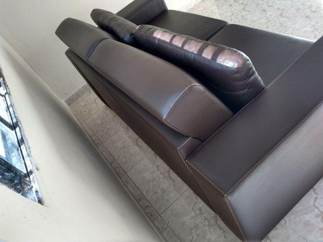 Sofá de 2 Lugares tamanho grande  - Foto 2