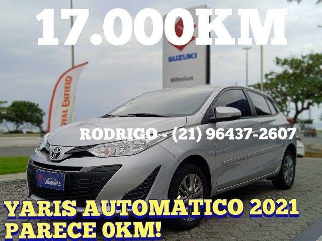 Toyota Yaris 2021 com 17.000km muito novo! - Foto 15