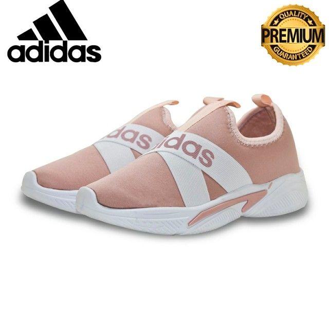 Tênis Adidas Slip  Unissex casual  Excelente Qualidade numeraçao do 34 ao 39  - Foto 5