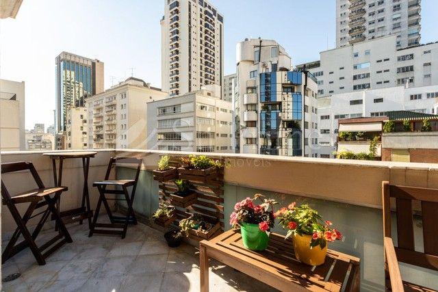 Cobertura Duplex para aluguel no Jardins, 4 dormitorios e 5 vagas - Foto 3