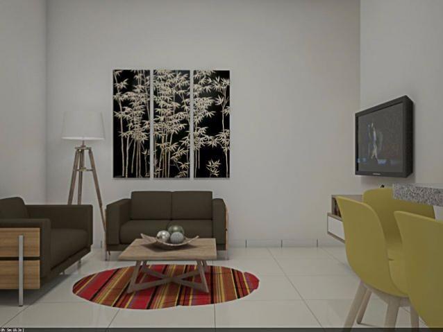 Apartamento 2 quartos, 63 m² na 506 Norte - Residencial Mandela - Foto 2