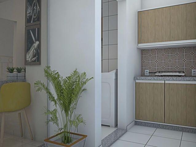 Apartamento 2 quartos, 63 m² na 506 Norte - Residencial Mandela - Foto 3