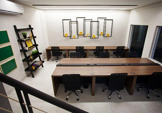 Salas Privativas, Coworking e Sala de Reunião