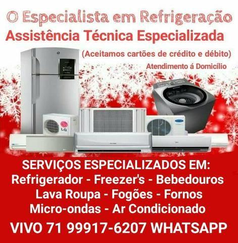 Assistência Técnica Brastemp, Consul, Electrolux, Bosch, Continental ...