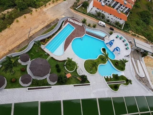 Vendo apartamento no Condomínio Lual de Ponta Negra 56m² 2/4 sendo uma suite, andar alto - Foto 3