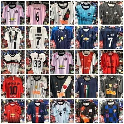 f40d4371bfe6c Camisas Futebol Nacionais e Importados - Esportes e ginástica ...