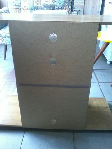 Promocao rack na caixa ( NOVO) 130,00 no dinheiro entrega e montagem gratis - Foto 2