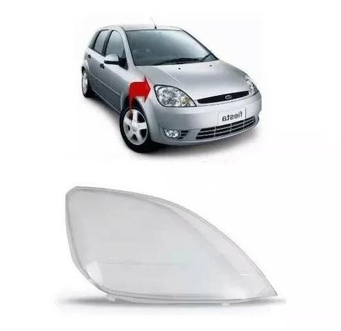 Lente Farol Ford Fiesta 2003 2004 2005 2006 2007 Direito