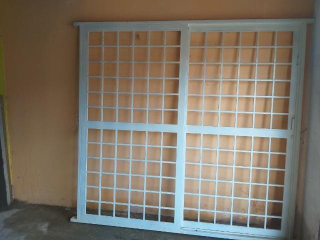 Portão com porta de correr NOVO 2,20x2,10