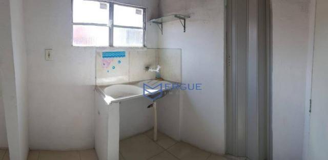 Casa com 2 dormitórios para alugar e vender, 60 m² por r$ 450,00/mês - dias macedo - forta - Foto 7