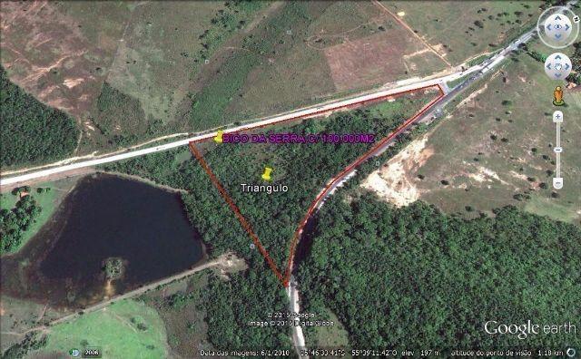 Área c/ 100.000m2, melhor Ponto Comercial da BR-364, a 31km de Cuiabá-MT