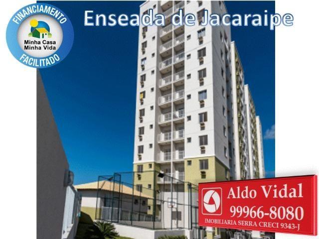 ARV34- Apê Novo em Jacaraipe, 2 quartos com suíte e varanda - Foto 4