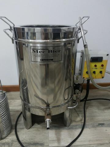 Panela Elétrica Single Vessel Mec Bier 30 litros Cerveja Artesanal