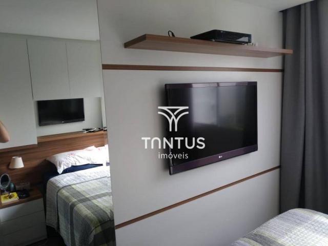 Apartamento com 2 dormitórios à venda, 50 m² por r$ 240.000 - pinheirinho - curitiba/pr - Foto 12